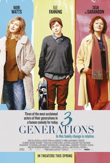 Постер Three Generations