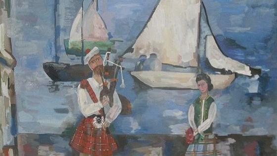 Дети рисуют. По мотивам русской и шотландской живописи