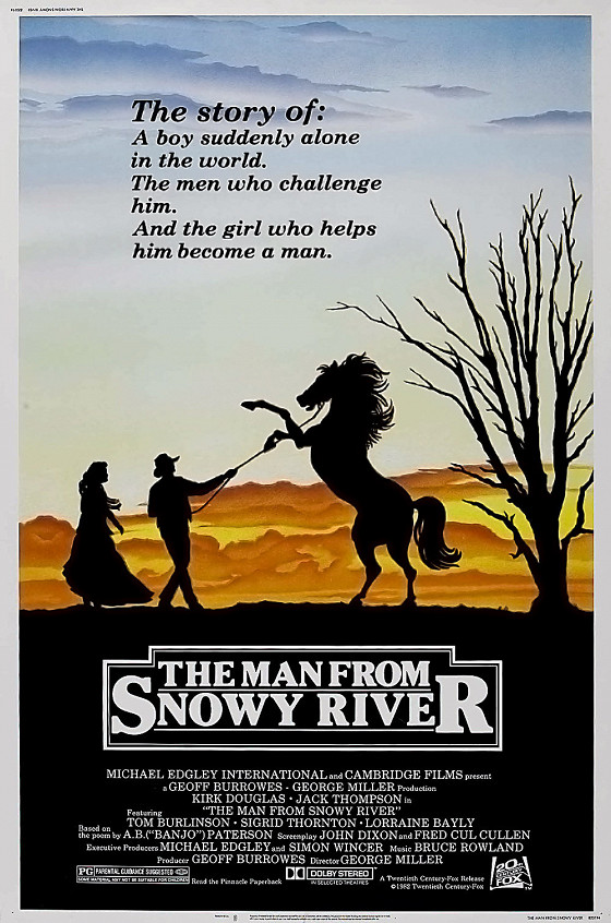 Мужчина с заснеженной реки (The Man from Snowy River)