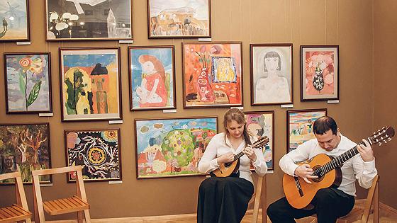Юбилейная выставка галереи
