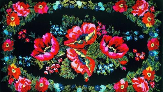 Тюменский ковер. Цветы Сибири