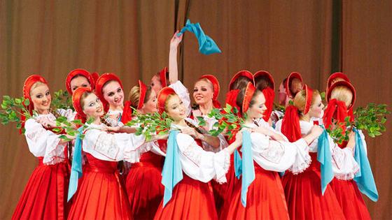 Концерт хореографического ансамбля «Березка» им. Надеждиной