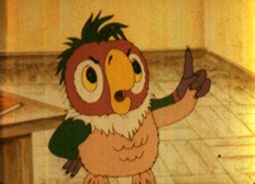 Утро попугая Кеши