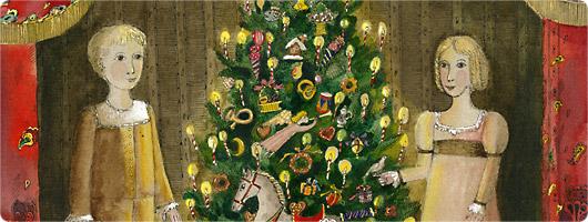Рождество в Доме Марии Николаевны Ермоловой