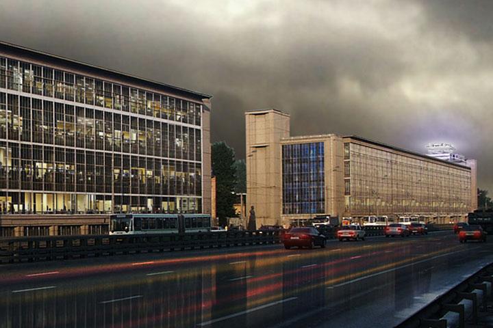 Проект сохранения исторических фасадов немецких архитекторов Uberbau