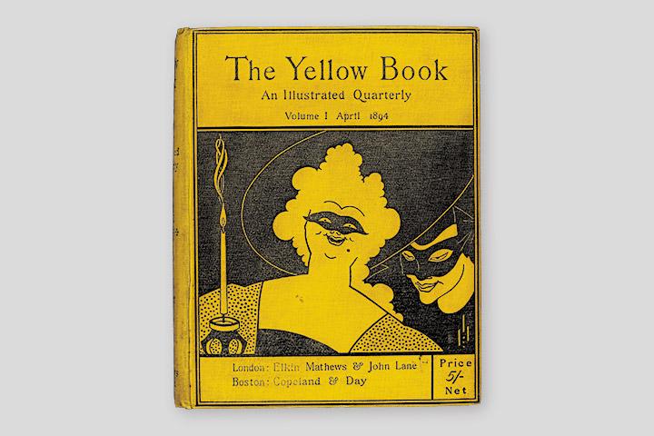 Первый выпуск литературного альманаха «Желтая книга», 1894