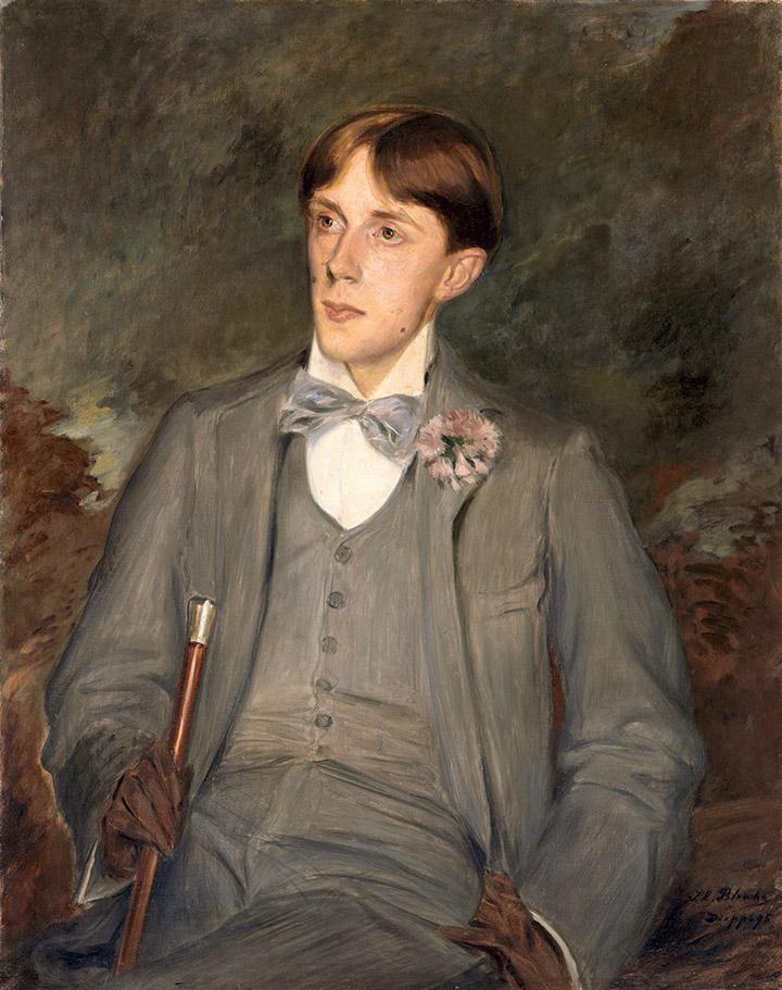 Жак-Эмиль Бланш. Портрет Обри Бердслея, 1895