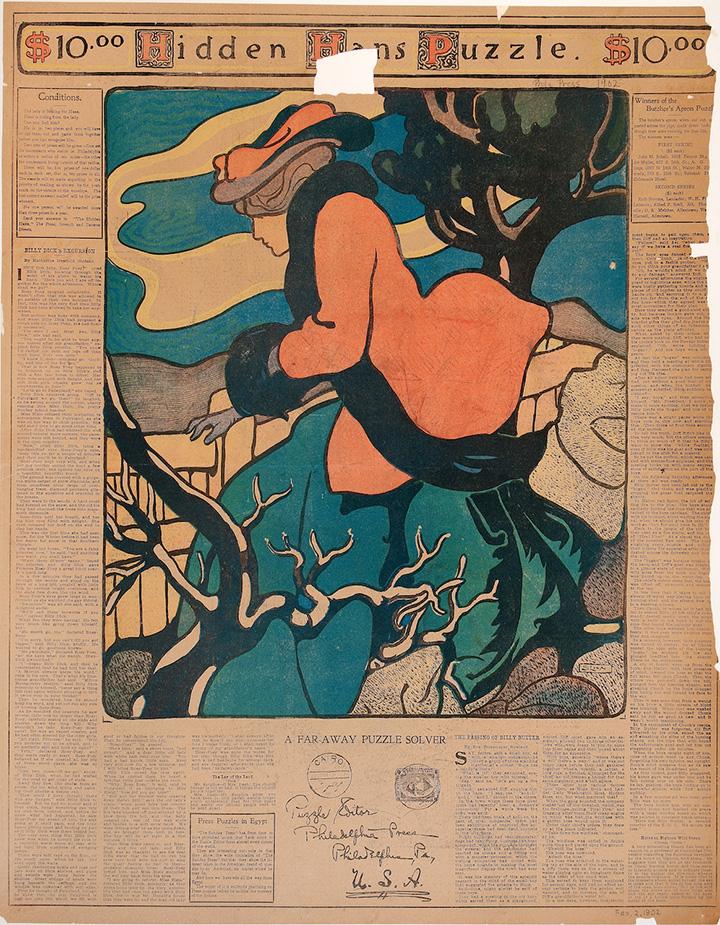 Картинки-загадки начала XX века