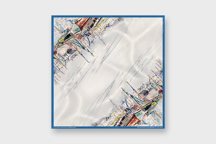 Шелковый платок, 1 550 р.