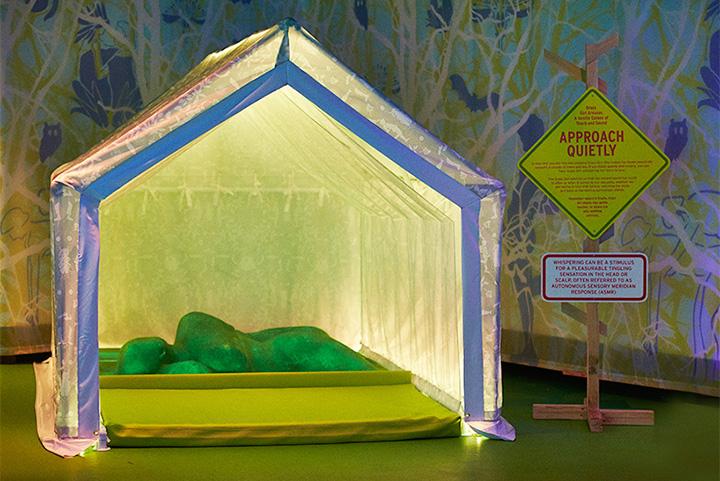 Музей секса как палаточный лагерь