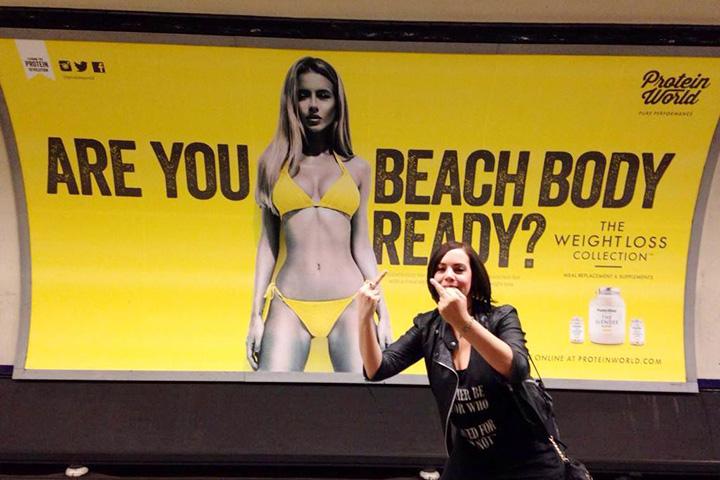 Лондонцы обиделись на рекламу