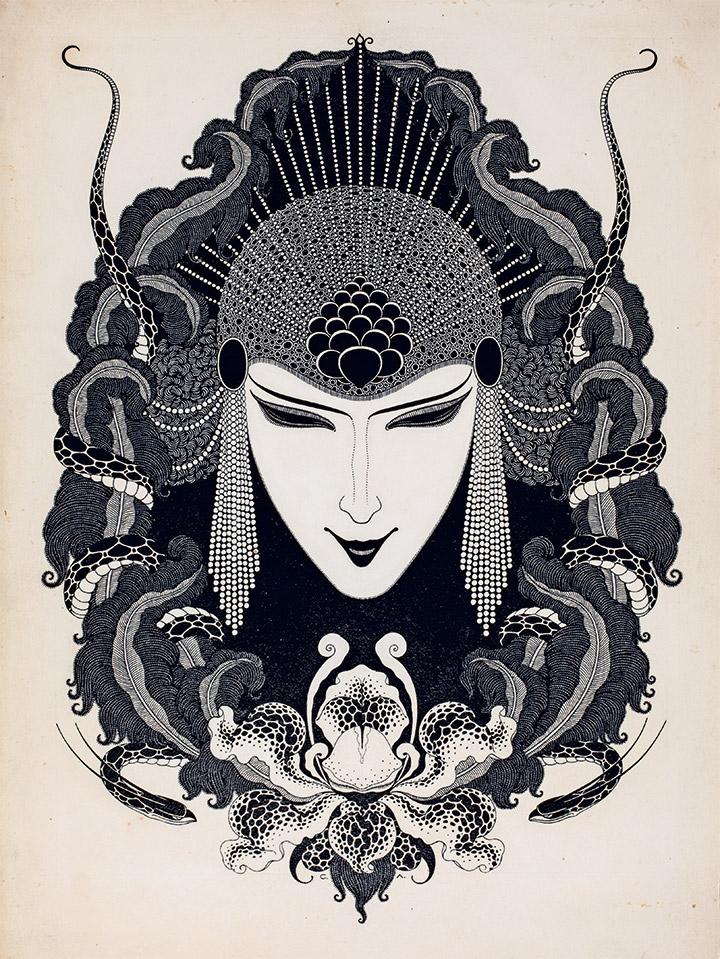Сергей Лодыгин. «Орхидея», 1917