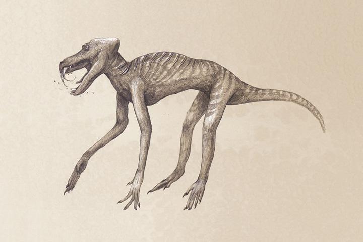Современные животные, нарисованные как динозавры