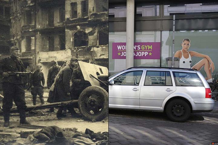 Берлин в 1945-м и в 2015-м