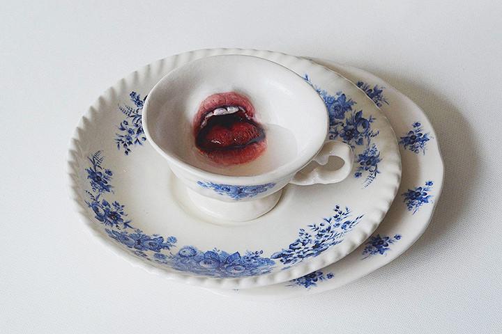 Дикая плотоядная керамика