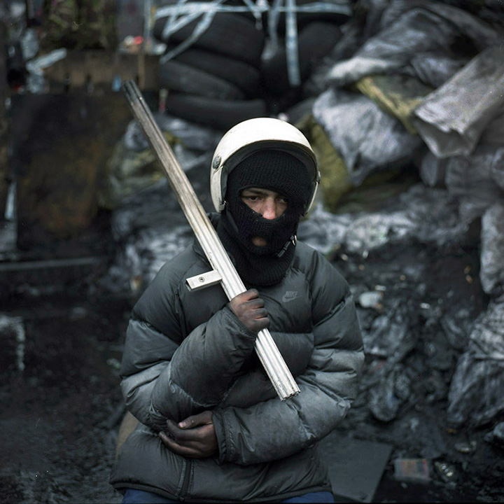 Александр Чекменев, из серии «Воины», 2014