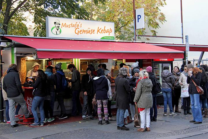 Кебабная Mustafa's Gemüse Kebap