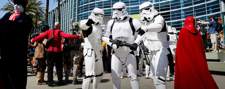 «Чуи, мы дома»: что происходит на слете фанатов «Звездных войн»
