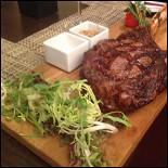 "Ресторан New York Steakhouse - фотография 6 - Рибай-стейк на кости ""Томагавк"""