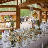 Ресторан Шале - фотография 3 - Банкеты/свадьбы/выездные регистрации