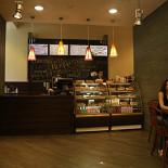 Ресторан Coffee and the City - фотография 2 - Кофейня в БЦ Павловский (ул. Павловская, д.7)