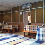 Ресторан Русские блины - фотография 1 - Вот такой зал на 10 столиков