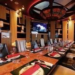 Ресторан Лодка - фотография 6 - Большой VIP зал с караоке