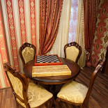 Ресторан Greenwich - фотография 6 - VIP кабинет с бильярдом,шахматами и нардами ручной работы. на 10 персон