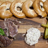 Ресторан Bread & Beef  - фотография 3 - Salt beef bagel