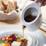 Ресторан Wine Religion - фотография 3 - Зимний суп из белых грибов с копченной уткой