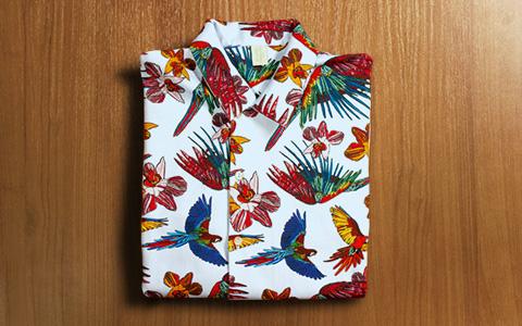Рубашки с узорами