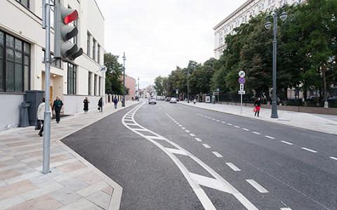 Триумфальная площадь, Большая Никитская и другие улицы после реконструкции