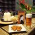 Ресторан Терракот - фотография 2 - Ассортимент свежего разливного Чешского пива и горячих гренок.