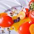 Ресторан Le boat - фотография 2 - Салат из томатов с кумкватами