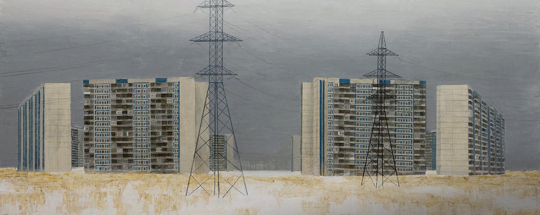 Многоэтажки в искусстве: от живописи до стрит-арта