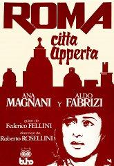 Постер Рим, открытый город