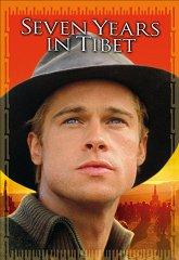 Постер Семь лет в Тибете