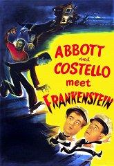 Постер Эбботт, Костелло и Франкенштейн
