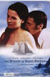 Постер Вдова с острова Сен-Пьер