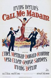 Постер Зовите меня мадам