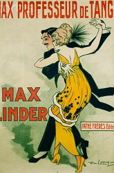 Постер Макс — учитель танго