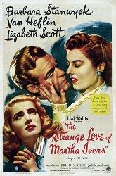 Постер Странная любовь Марты Айверс