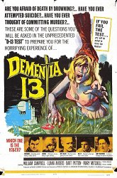 Постер Безумие 13