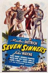 Постер Семь грешников