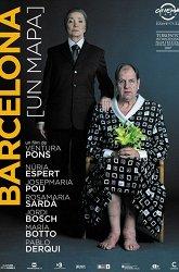 Постер Барселона (карта)