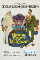 Постер Бог знает, мистер Аллисон