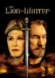 Постер Лев зимой
