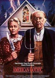 Постер Американская готика