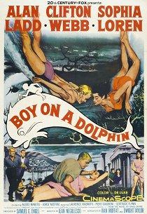 Мальчик на дельфине