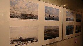 Подводный флот России в произведениях художников ЦВММ
